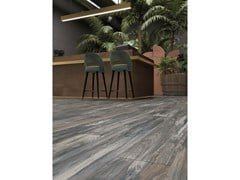 Lastra in gres porcellanato a massa colorata NEST Blue - ABK GROUP INDUSTRIE CERAMICHE