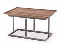 Tavolino rettangolare in legno e ferro NEST | Tavolino rettangolare - Nest
