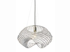 Lampada a sospensione a luce diretta in metallo NET | Lampada a sospensione - Net
