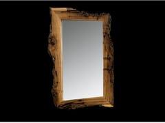 BLEU PROVENCE, NEW AGE Specchio rettangolare in legno con cornice