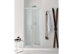 Box doccia a nicchia in vetro con porta a battente NEW CLAIRE - 5 - New Claire