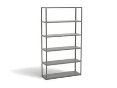 Libreria a giorno in alluminioNEW ORDER COMB. 501 - HAY