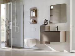 Mobile lavabo sospeso in legno con cassettiNEW SMART NS26 - ARTEBA