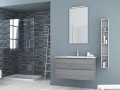 Mobile lavabo singolo sospeso in abete con cassettiNEW SMART NS33 - ARTEBA