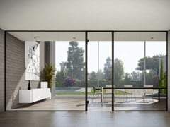 Colcom Group, NEW STRIQE P35E Profilo per pareti e porte in vetro