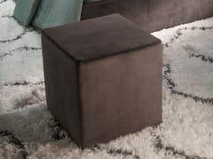Pouf imbottito quadrato in tessutoPouf quadrato - LINEA & CASA +39