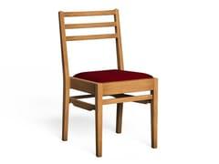 Sedia in legno con cuscino integratoNEWNHAM - LUKE HUGHES & COMPANY