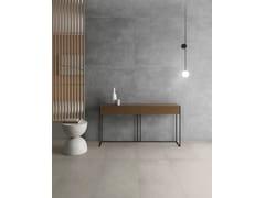 Pavimento/rivestimento in gres porcellanato effetto cemento per interni ed esterniNEXT DARK - ARIOSTEA