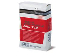 FASSA, MALTA STRUTTURALE NHL 712 Bio-malta fibrorinforzata ad alte prestazioni meccaniche