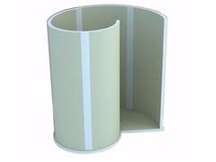 Box doccia centro stanza con piatto NIAGARA - Concept xps