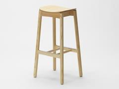 Sgabello con poggiapiediNICO | Sgabello in legno - ZILIO ALDO & C.