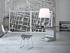 Scrivania direzionale in vetro NIEMEYER | Scrivania in vetro - Niemeyer
