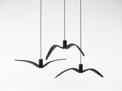 Lampada a sospensione per esterno a LED in vetroNIGHT BIRDS EXTERIOR - BROKIS