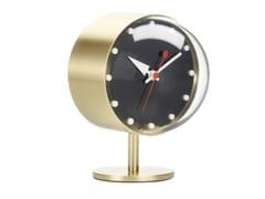 Orologio da tavolo in ottoneNIGHT CLOCK - VITRA