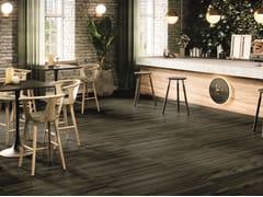 Pavimento in gres porcellanato effetto legnoNIGRUM - RECER