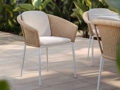 Sedia da giardino con braccioli con cuscino integratoNIKITA | Sedia con braccioli - SNOC OUTDOOR FURNITURE