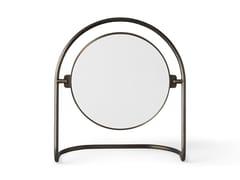 Specchio basculante da tavolo in ottoneNIMBUS TABLE MIRROR - MENU