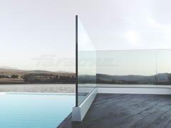FARAONE, NINFA 5 Parapetto in vetro