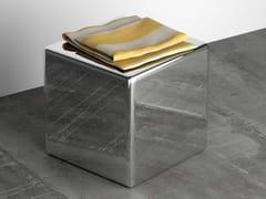 Sgabello per bagno in acciaio inoxNINO - COMPONENDO