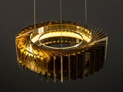 Lampada a sospensione a LED in metallo NIVALA SINGLE -