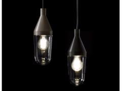 Lampada a sospensione in alluminio e vetroNIWA - 1180 - OLUCE