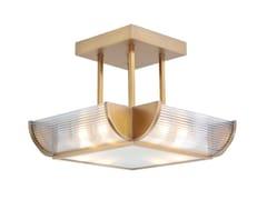 Lampada da soffitto fatta a mano in ottone NIZZA CHANDELIER II - Nizza