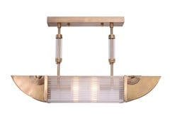 Lampada da soffitto fatta a mano in ottone NIZZA PENDANT II - Nizza