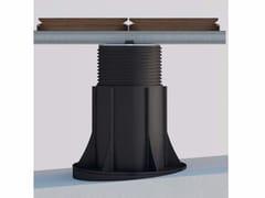 Sistema modulare per pavimento sopraelevato NEW MAXI e travetto in alluminio - Woodeck