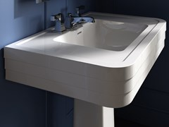 Lavabo rettangolare su colonnaNOBEL | Lavabo - DEVON&DEVON