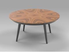 Tavolino rotondo in derivati del legno in stile moderno da salottoNOBLE   Tavolino in MDF - AMA DESIGN