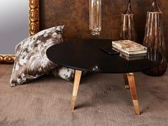 Tavolino rotondo in Corian®NOBLE   Tavolino in Corian® - AMA DESIGN