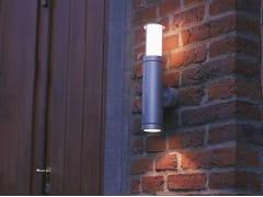 Applique per esterno a luce diretta e indiretta in metalloNOBUS G - BEL-LIGHTING