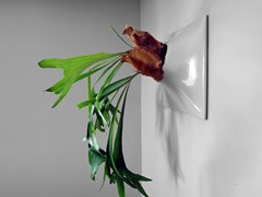 Vaso da parete modulare in gres ceramicoNODE XL - PANDEMIC DESIGN STUDIO