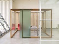 Parete mobile in legno e vetroNODOO | Parete mobile - NODOO