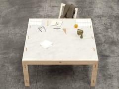 Tavolo quadrato in legno massello NODOO | Tavolo quadrato -