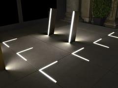 Piastra luminosa per pavimentazione per ambienti esterniNOOK - ADHARA