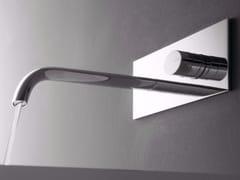 Miscelatore per lavabo monocomando con piastra NOOX | Miscelatore per lavabo a muro - Noox