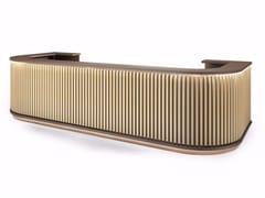 Banco reception in legno e nobilitatoNORDIC - GRUPPO P&G