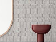Wall&decò, NORI Carta da parati a rilievo ecologica ignifuga in materiale sintetico