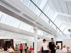 Velux Commercial, NORTHLIGHT 25-90° Finestra da tetto in acciaio e vetro