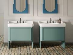 Mobile lavabo da terra in MDF con cassettiNOSTALGIA | Mobile lavabo - EX.T