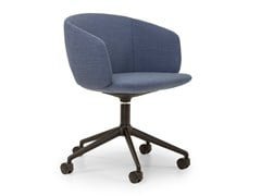 Sedia ufficio girevole in tessuto con ruoteNOT MINI | Sedia ufficio - TRUE DESIGN