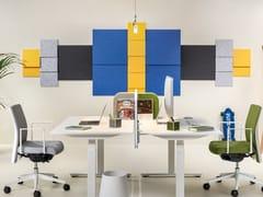 Pannello acustico a parete in poliestereNOTE-IT - PLANNING SISPLAMO
