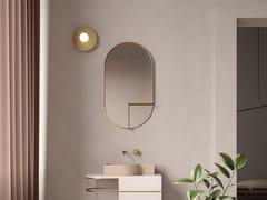 Ex.t, NOUVEAU SHELF Specchio ovale con mensola da parete