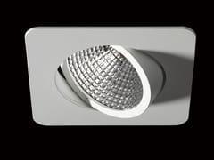 Faretto a LED orientabile in alluminio verniciato a polvere da incasso NOVA FLEX -