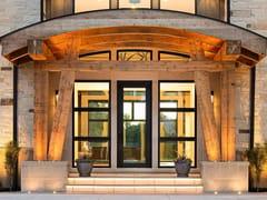 Porta a bilico vetrataNOVA   Porta d'ingresso a bilico vetrata - OIKOS VENEZIA