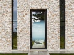 Porta d'ingresso blindata in alluminio e vetroNOVA | Porta d'ingresso con serratura elettronica - OIKOS VENEZIA