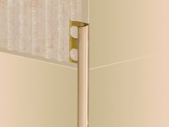 EMAC Italia, NOVOCANTO® LATÓN | Profilo paraspigolo in ottone  Profilo paraspigolo in ottone