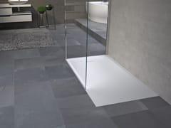 Piatto doccia rettangolare effetto pietraNOVOSOLID - NOVELLINI