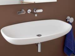 Lavabo sospeso in ceramica NUDA | Lavabo sospeso - Nuda
